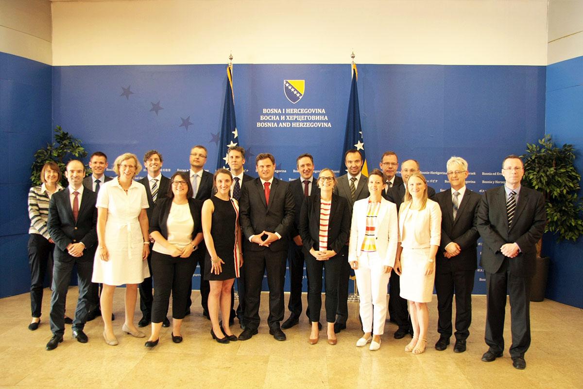 Große Studienfahrt 2018 nach Sarajevo