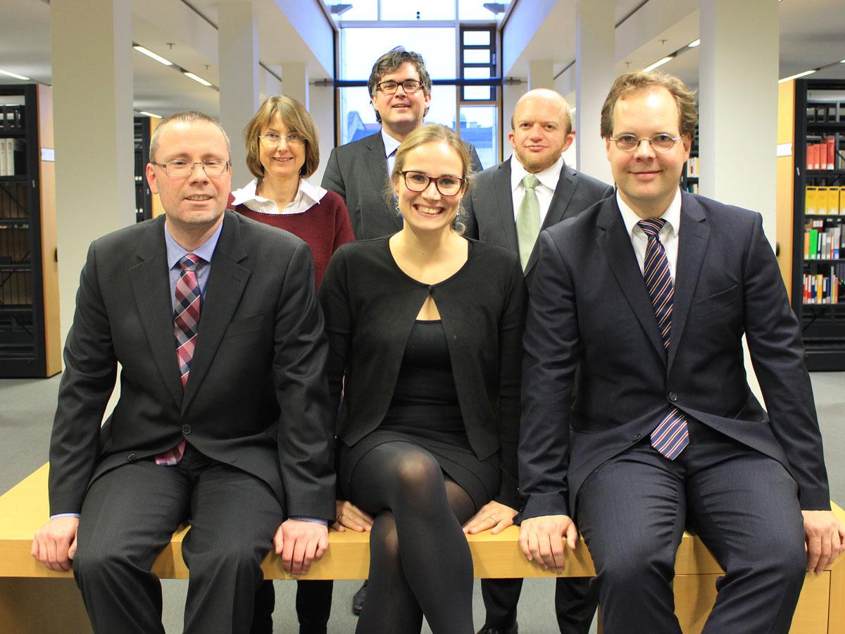 Gruppenfoto des Hiwi-Präsidiums 2018/2019