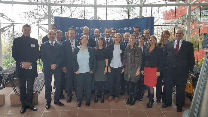 Gruppenfoto der Kleinen Studienfahrt 2017 nach Straßburg