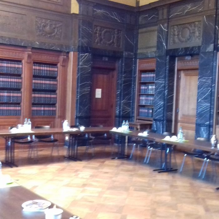 Empfang beim Hamburgischen Verfassungsgericht